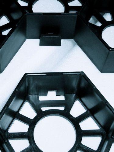 Klick-System Easygravel®3XL kiesgitter schwarz